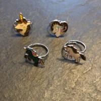 Glüxherz Stimmungsring Mood Ring - Einhorn - Design Auswahl