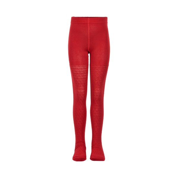 Creamie Strumpfhose mit Muster in Rot