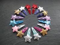 Wowzers Glitzer Sterne Haarspangen - Auswahl 1