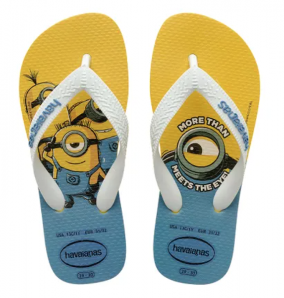 Havaianas Flip Flop Minions - More than meets the eye