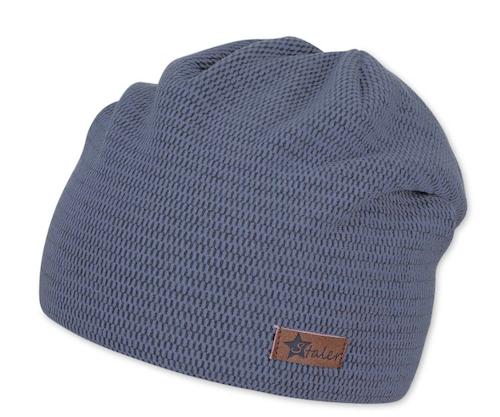 Sterntaler Superweiche Fleece Beanie Mütze in Blau