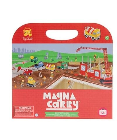 Tiger Tribe Magna Carry - Magnet Spielzeug Set to Go - Busy Builders