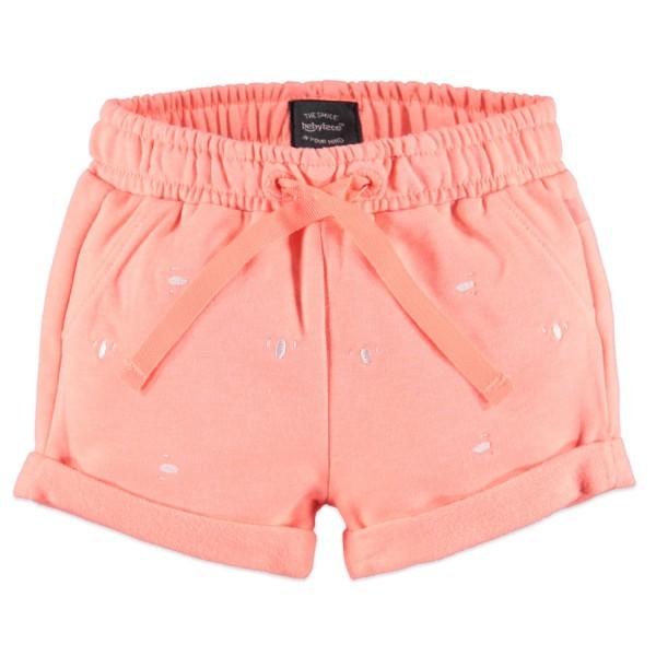 Babyface Jersey Sweat-Short - Coral