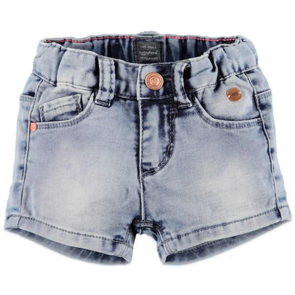 Babyface Mädchen Jog Jeans Short in Blau