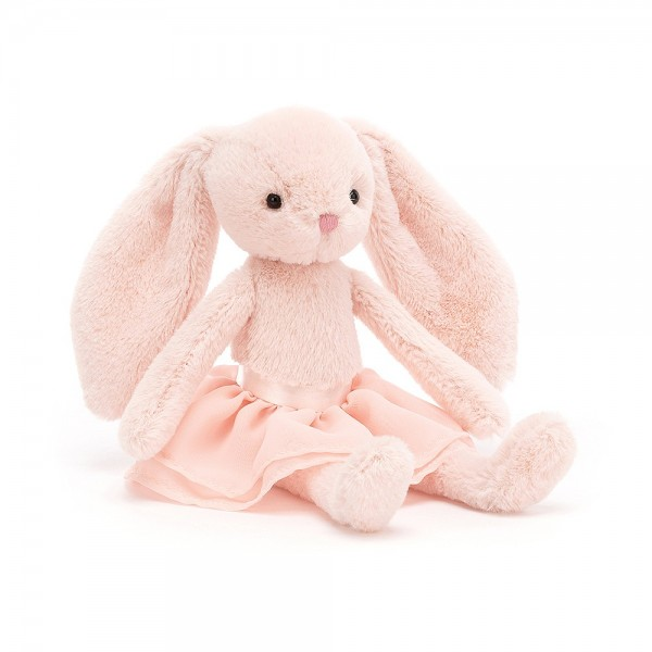 Jellycat Arabesque Bunny in Blush Rosa