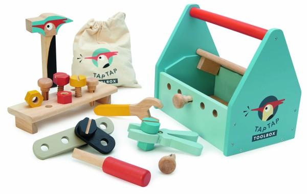 Tender Leaf Toys Werkzeugkoffer aus Holz