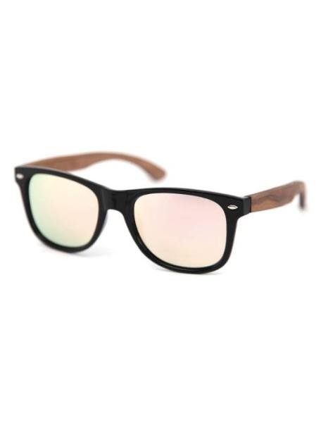 C3 Sonnenbrille Polarized - Miami Black Gold Rosé